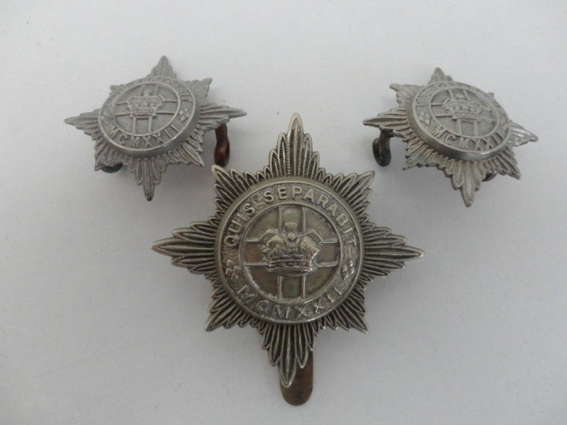 Dragoon Guards Badge Set