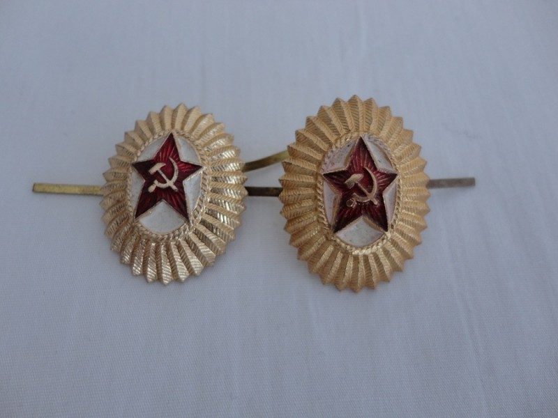 Soviet Army Cap badge