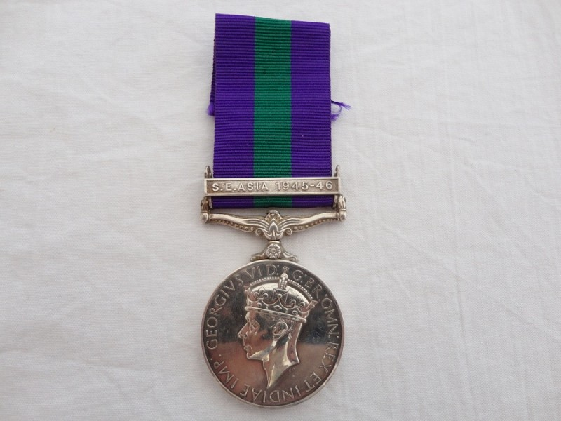General Service Medal R.A.M.C