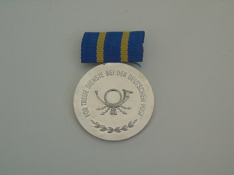 East German Post Medal