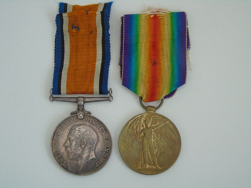 WW1 Pair Atkinson Lan Fus