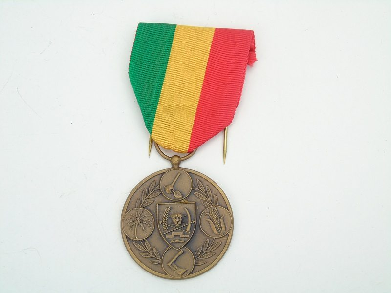 Republic Of Zaire Medal