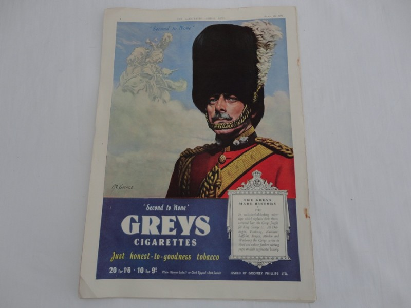 Greys Cigarettes Newspaper