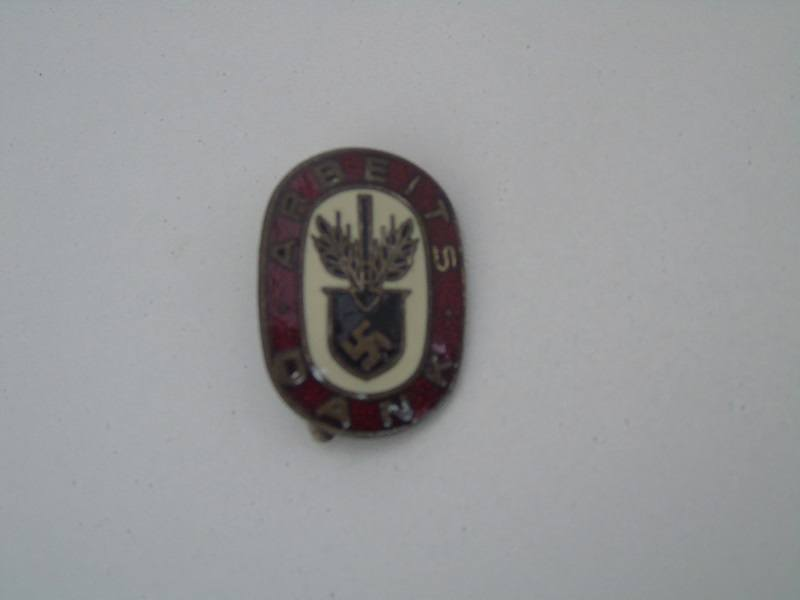 WW2 RAD Badge