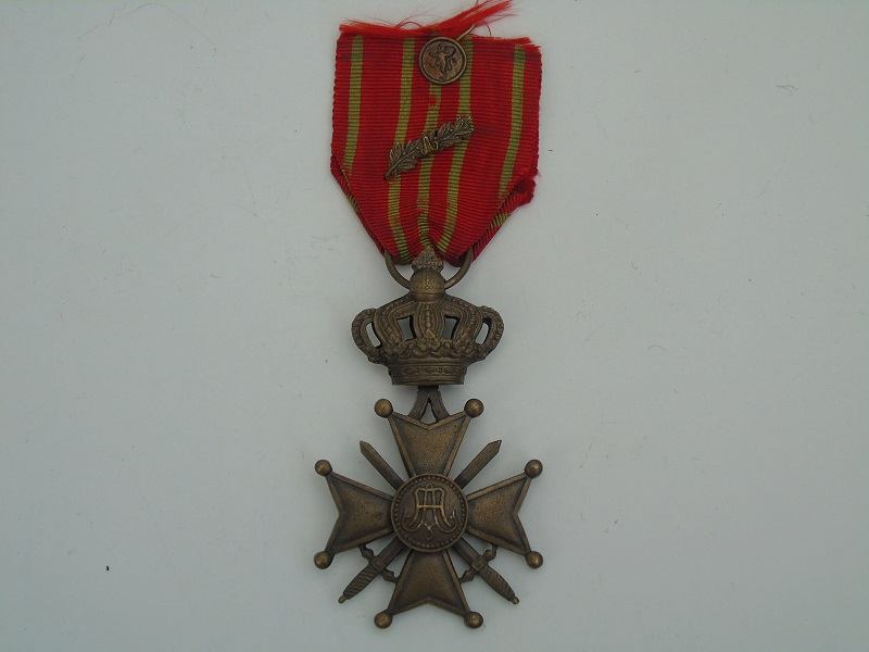 WW1 Belgium War Cross