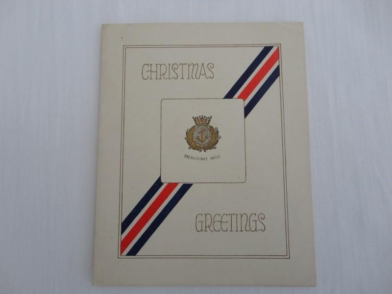 WW2 Christmas card