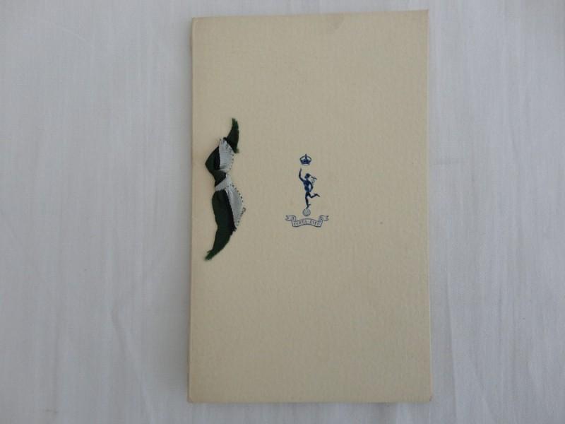 WW2 Royal Signals Christmas Card