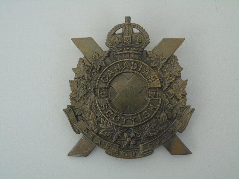 Canadian Scottish Badge