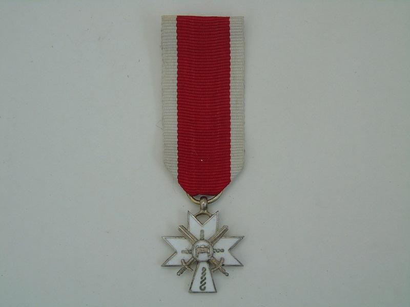 WW2 Croatian Miniature Medal