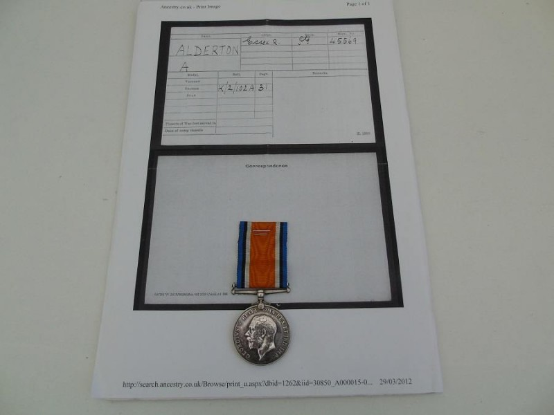 BWM Alderton Essex Regt
