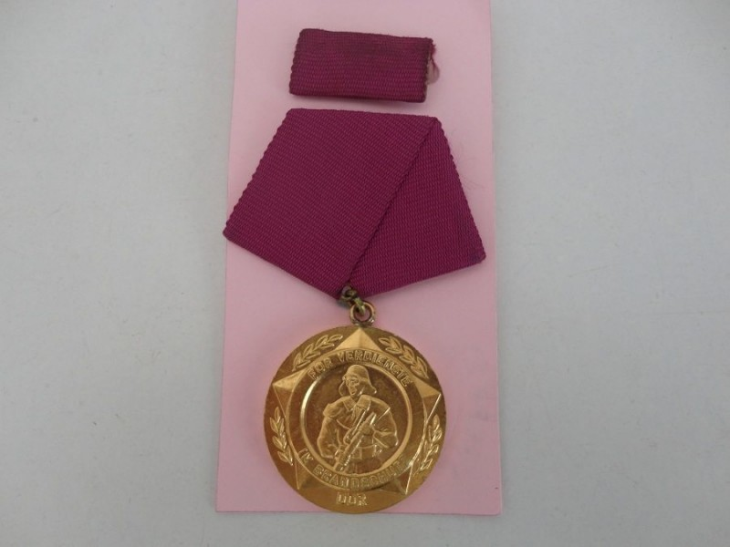 East German Fire Brigade LSGC Medal