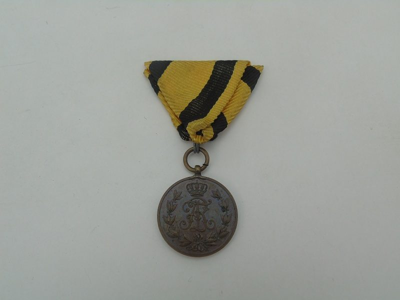 Friedrich August Medaille Bronze