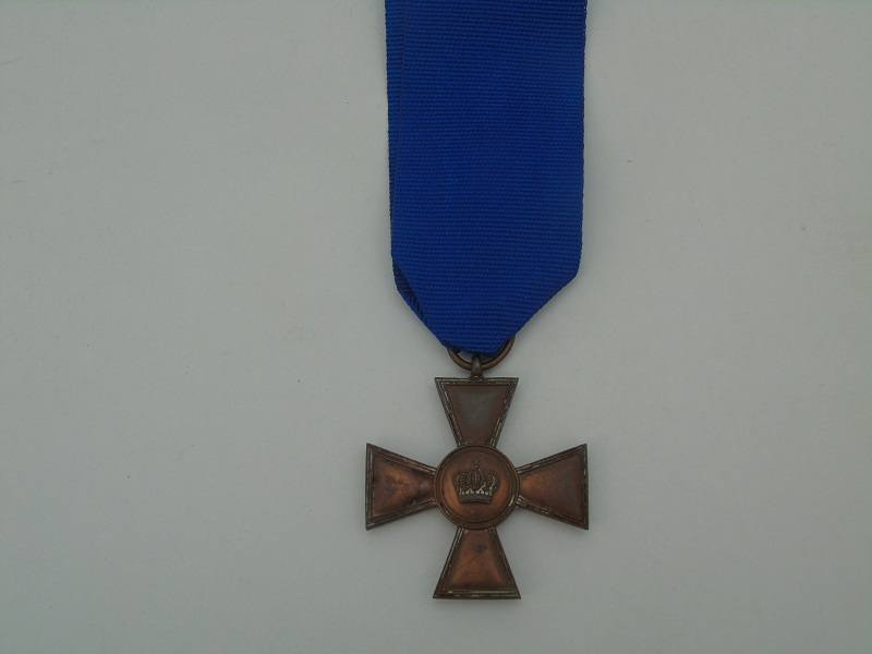 WW1 German Long Service Cross