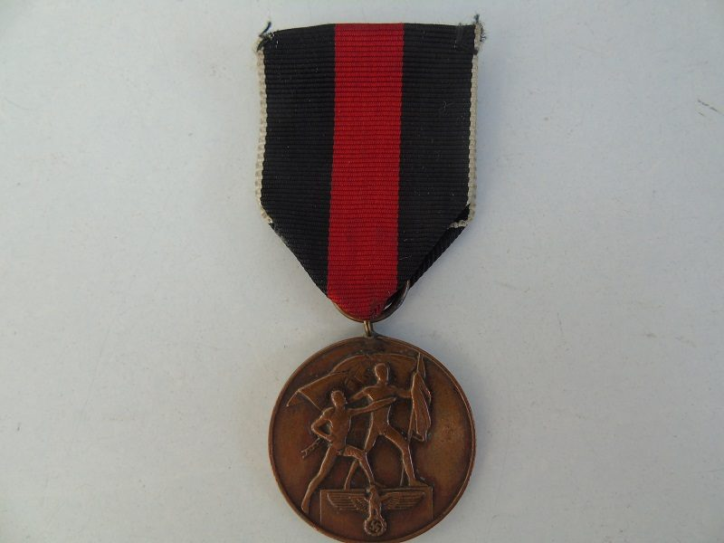 1938 German October Medal