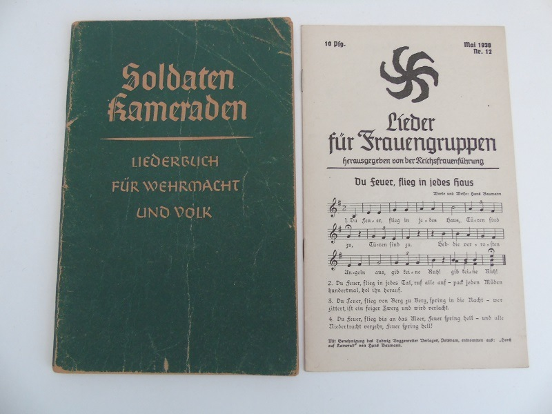WW2 German Song Book