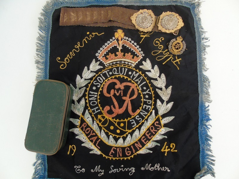 GV Royal Engineers Officers Belt