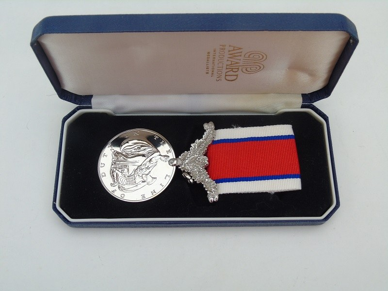 Line Of Duty Medal