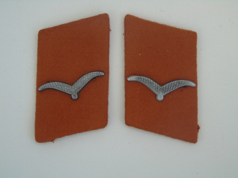 Luftwaffe Signals Collar Patches