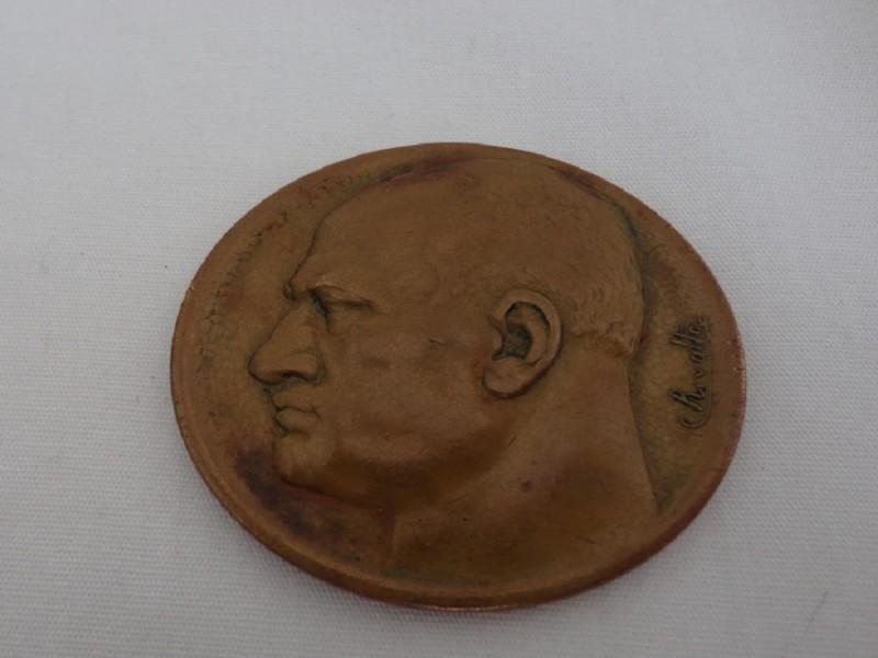 1935 Mussolini Medallion