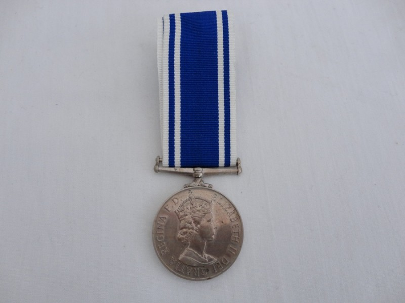 QEII Police L.S.G.C Medal