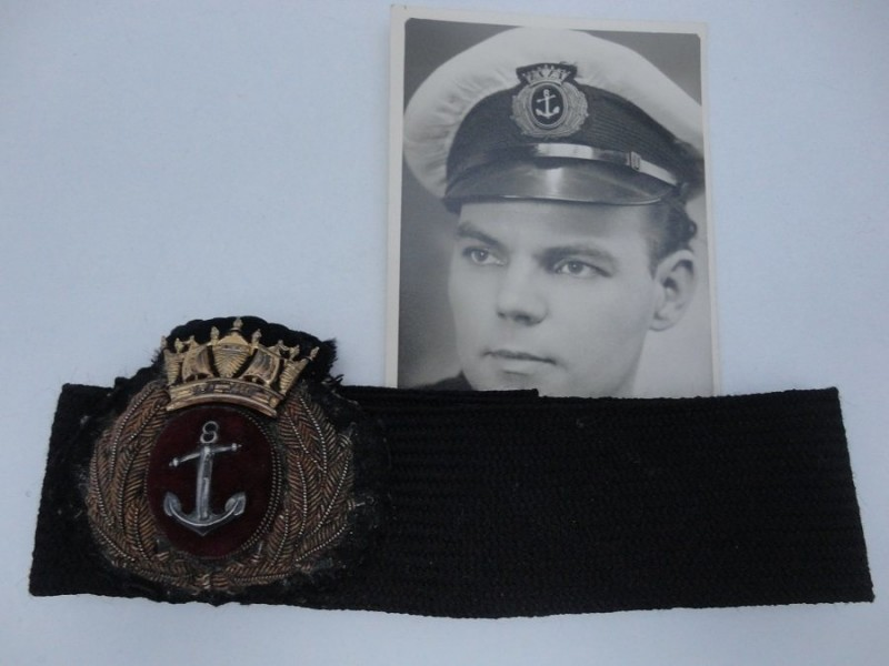 WW2 Merchant Navy Cap Badge