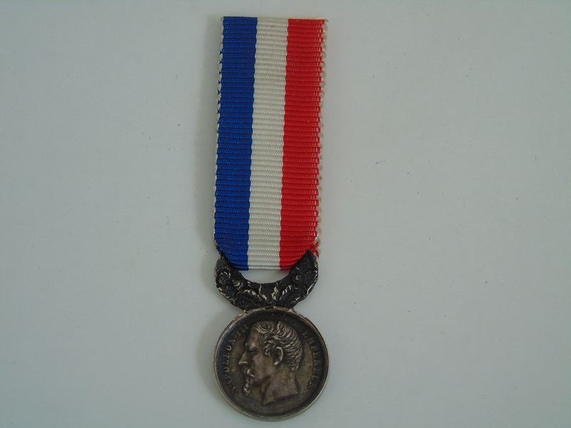 Miniature French Life Saving Medal