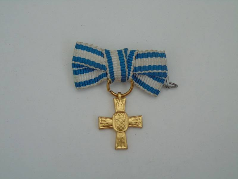 Miniature German Gold Cross