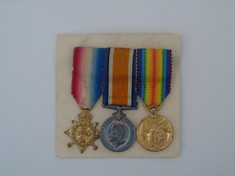 WW1 Mons Miniature Trio