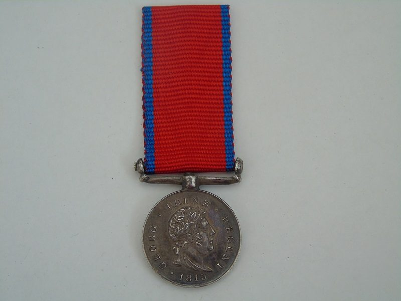Miniature Hannover Waterloo Medal