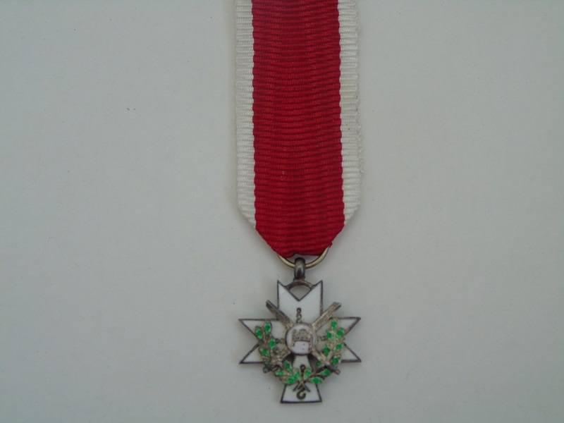 Miniature WW2 King Zvonimir Medal