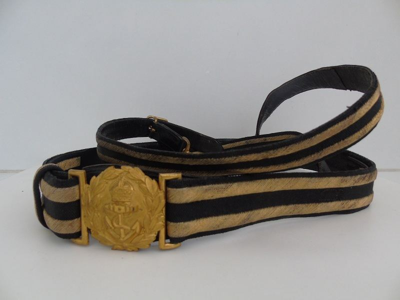 WW2 Navy Officers Belt