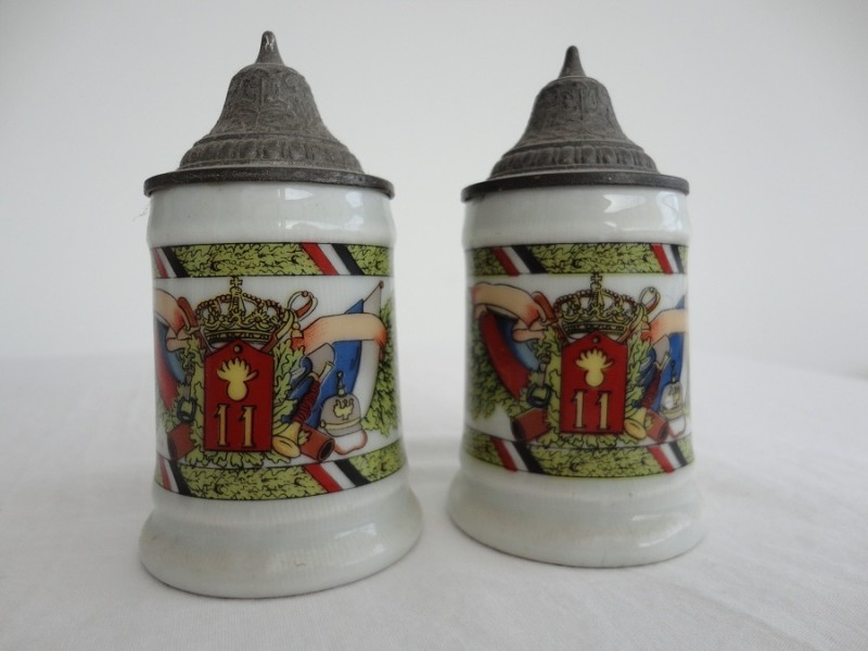 WW1 German Beir Steins