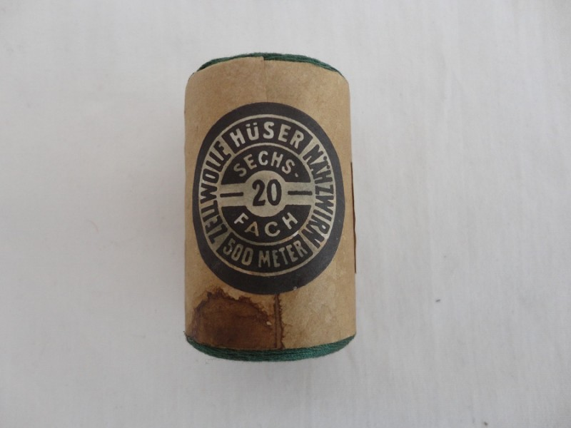 WW2 SA Cotton Reel Green