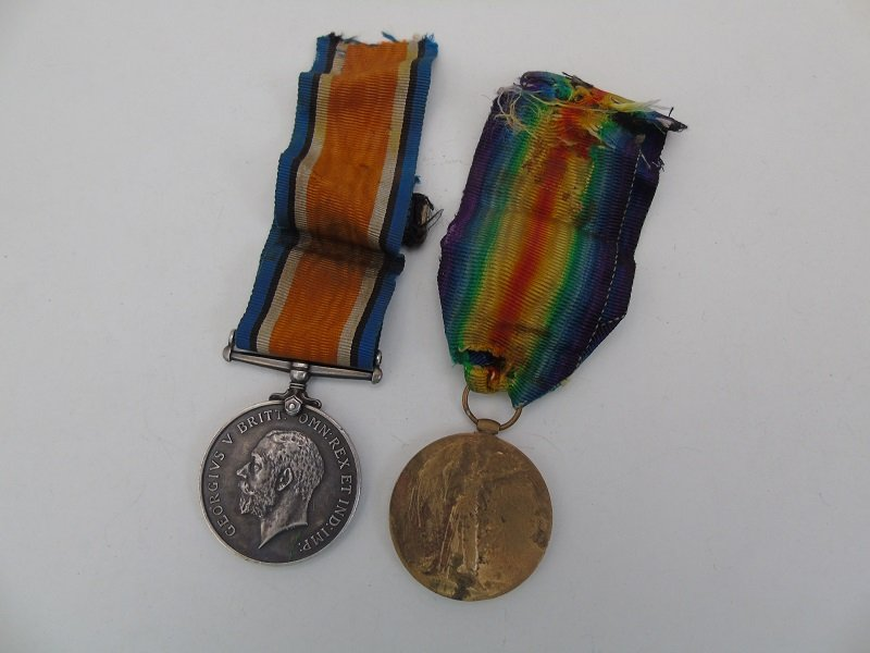 WW1 Pair Brighton Dorset R