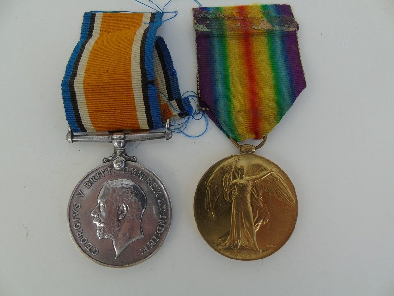 WW1 Pair Robinson 9th Lond