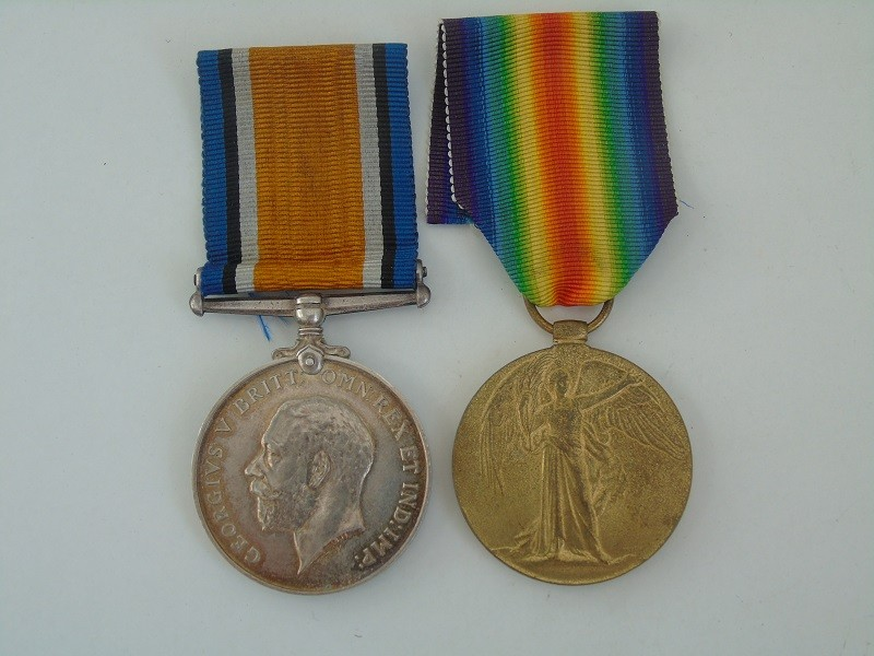 WW1 Pair Smith RE