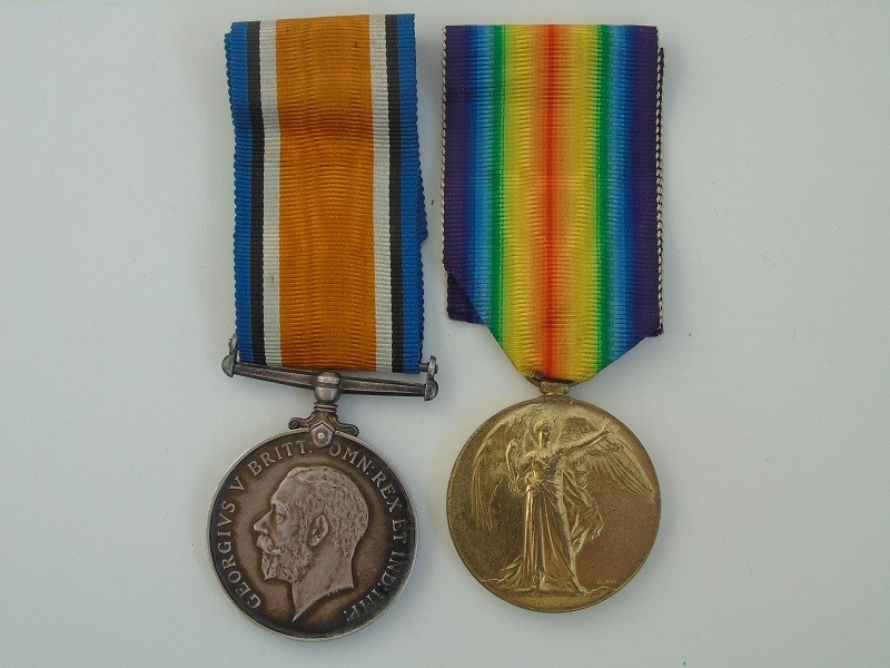 WW1 Pair Tutt ASC