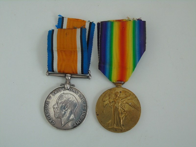 WW1 Pair Williams RAMC