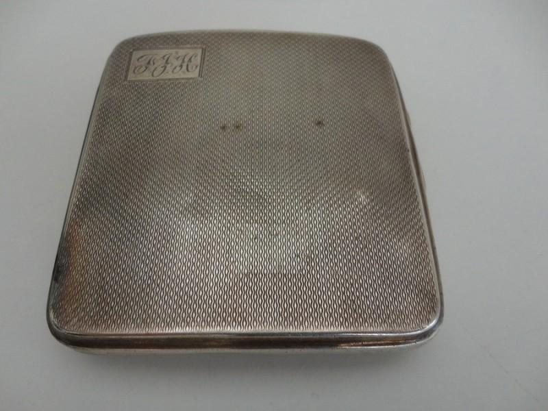 Gurkha Regiment Silver Cigarette Case