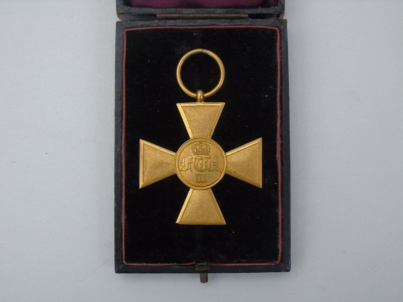 Prussian Long Service Cross