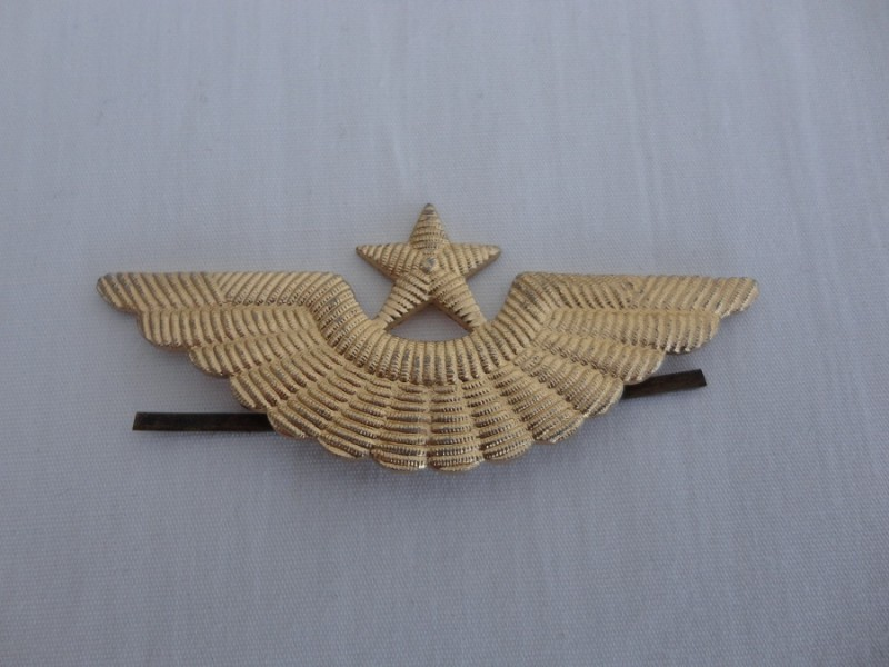 Russian Air Force Cap Badge