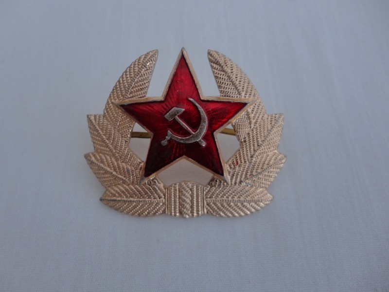 Russian Army Cap Badge