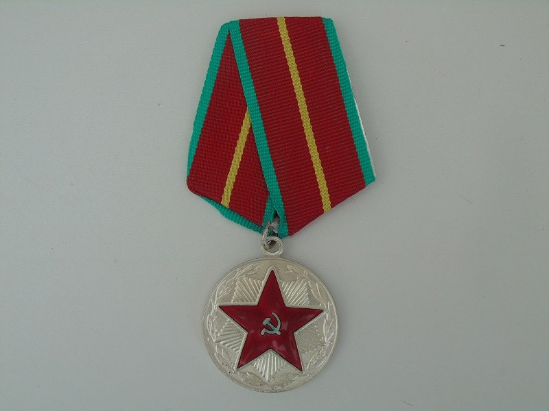 Russian 20 Year Service Medal