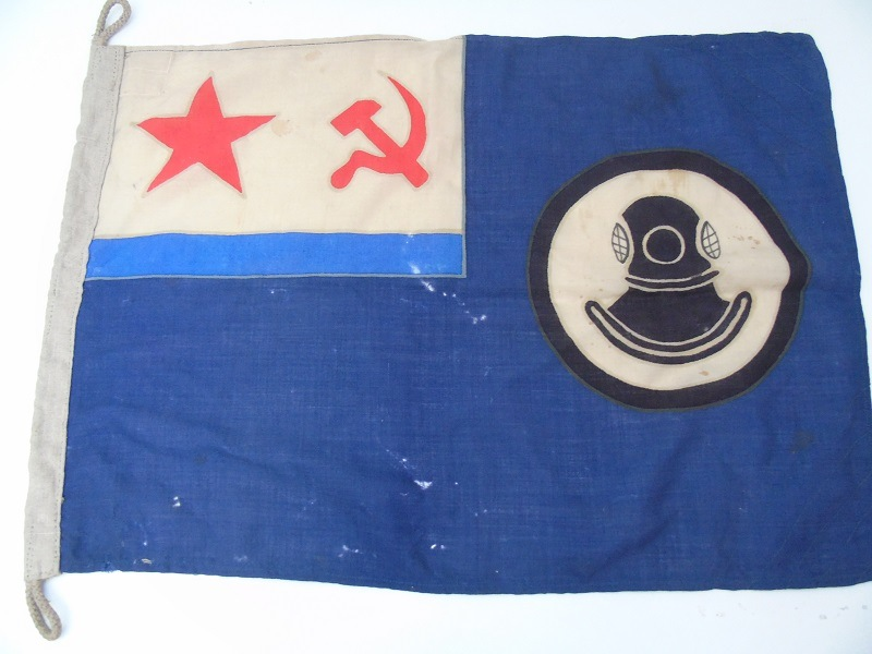 Russian Navy Divers Flag