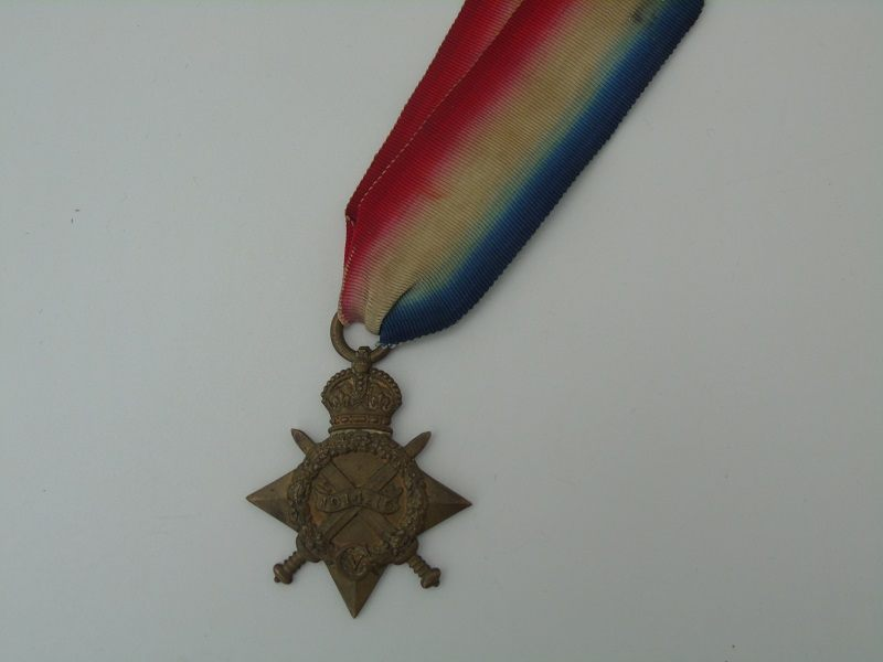 1914-15 Star Smith Irish Regiment