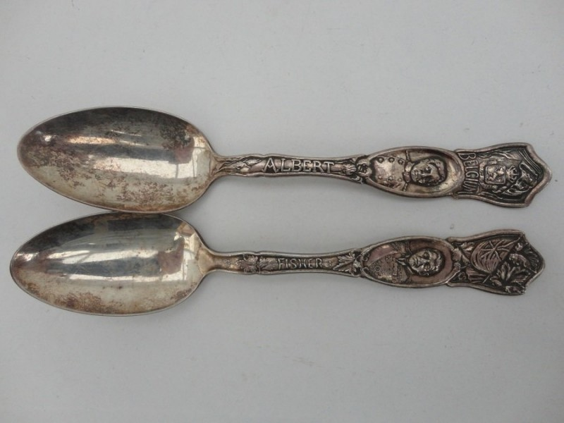 Prince Albert Commemorative Spoons