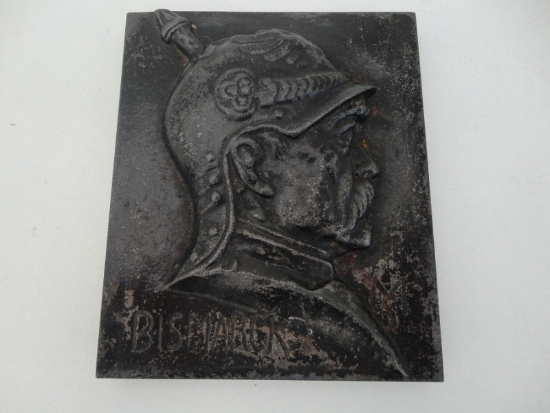 WW1 German Bismarck Plaque
