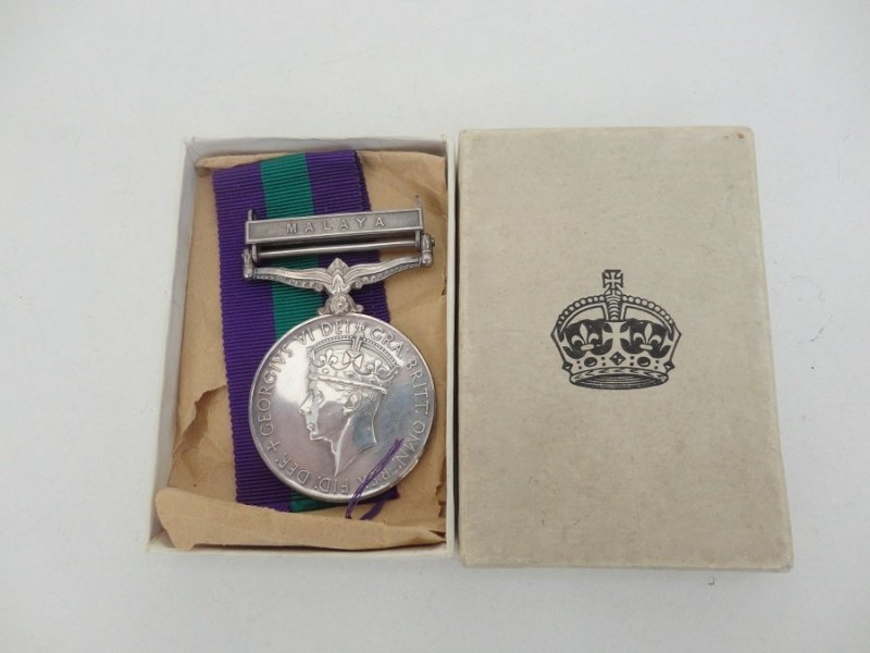 GVI Campaign Service Medal
