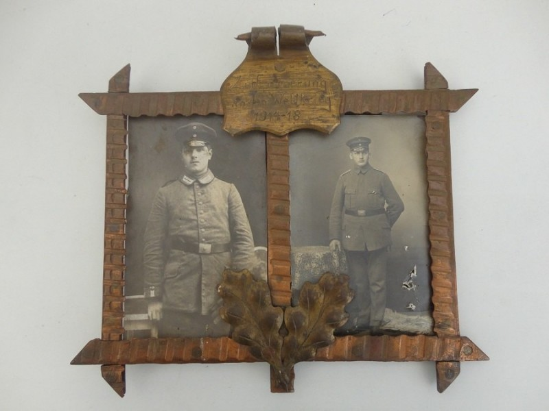 WW1 German Trench Art Frame