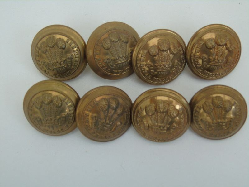 Welsh Fusiliers Buttons